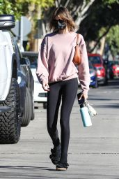 Kaia Gerber in Casual Outfit - West Hollywood 02/23/2021