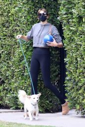 Kaia Gerber in Workout Gear - Los Angeles 02/13/2021