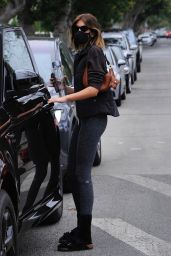 Kaia Gerber - Leaving Workout Session in LA 02/09/2021