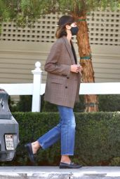 Kaia Gerber - San Vicente Bungalows in West Hollywood 02/10/2021