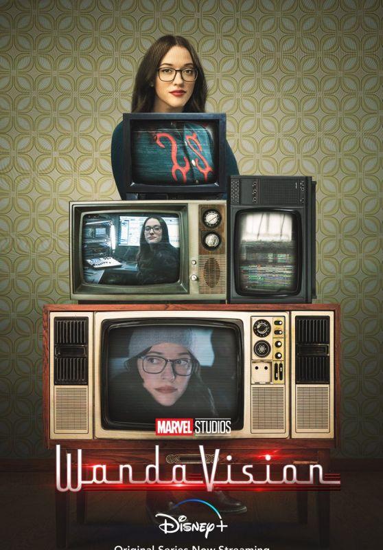 """Kat Dennings - """"WandaVision"""" Poster"""