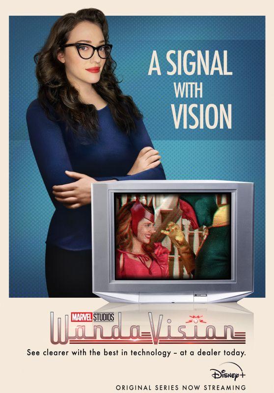 "Kat Dennings - ""WandaVision"" Poster and Videos"