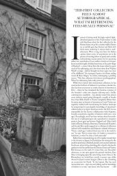 Kate Moss - Vogue UK March 2021 Issue