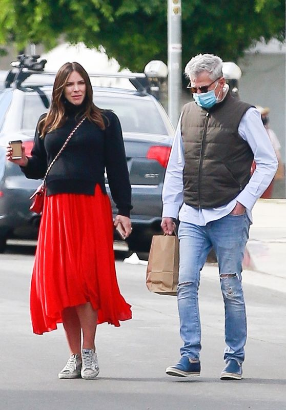 Katharine McPhee and David Foster - Out in LA 02/14/2021