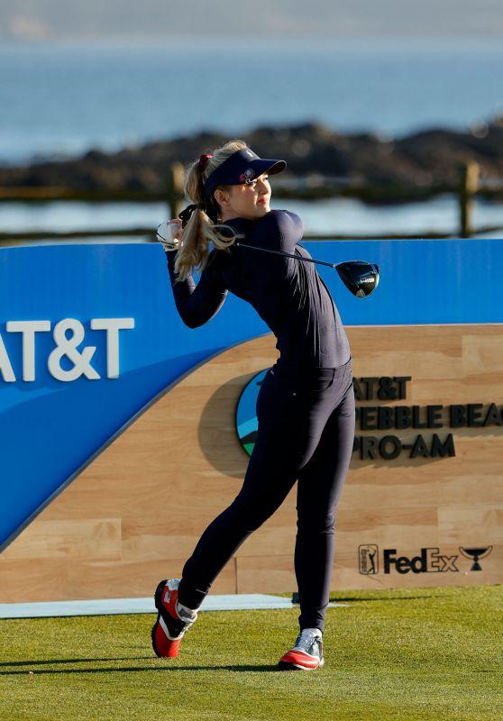 Kathryn Newton - AT&T Pebble Beach Pro AM Golf Tournament 02/10/2021