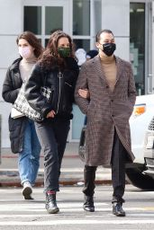 Katie Holmes and Emilio Vitolo Jr. - New York 02/26/2021