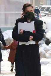 Katie Holmes in Manhattan's Soho Area 02/11/2021