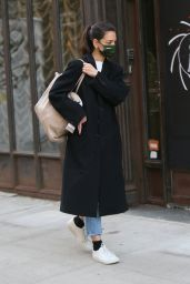 Katie Holmes - Out in New York 02/10/2021