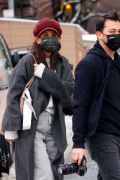 Katie Holmes - Out in NYC 02/04/2021