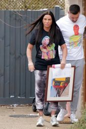 Katie Price and Carl Woods - London 02/12/2021