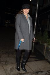 Kelly Brook in Casual Outfit - London 02/15/2021