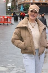 Kelly Brook in Casual Outfit - London 02/16/2021