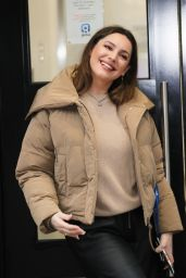 Kelly Brook in Comfy Outfit - London 02/22/2021