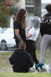 Kelly Osbourne at the Park in Los Angeles 02/21/2021