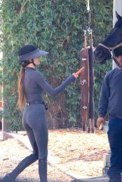 Kendall Jenner - Horseback Riding in Malibu 02/13/2021