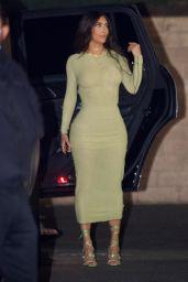 Kim Kardashian, Kourtney Kardashian, Jen Atkin, Stephanie Shepherd, La La Anthony, Jennifer Meyer and Maeve Reill - Ladies night in Beverly Hills 02/24/2021