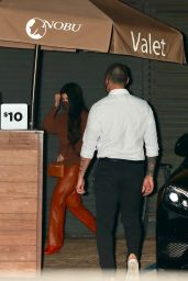 Kourtney Kardashian at Nobu in Malibu 02/22/2021