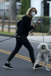 Laura Dern - Takes Her Dogs For a Walk in LA 02/10/2021