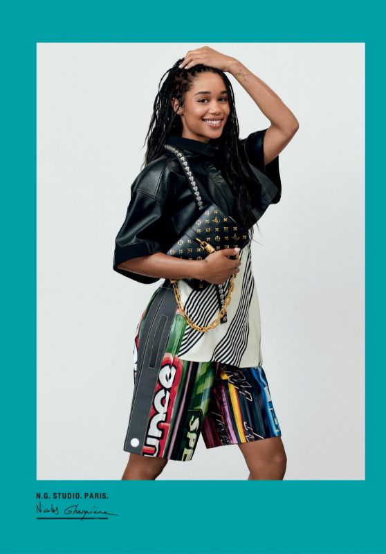 Laura Harrier - Louis Vuitton Spring Summer 2021