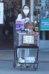 Lauren Parsekian - Grocery Shopping in Los Feliz 02/24/2021