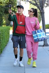 Lexy Panterra With Alex Wassabi - Out in Los Angeles 02/23/2021