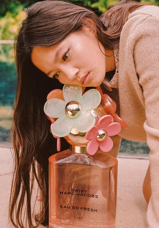 Lily Chee - Photoshoot for Marc Jacobs Fragrances Spring 2020