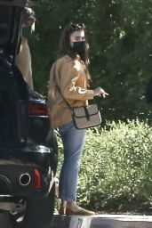 Lily Collins - Out in Pasadena 02/06/2021