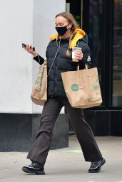 Lily-Rose Depp - Grocery Shopping at Whole Foods in New York 02/17/2021