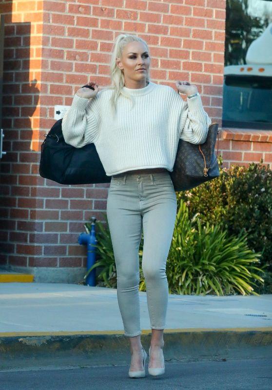 Lindsey Vonn Street Style - Los Angeles 02/26/23021