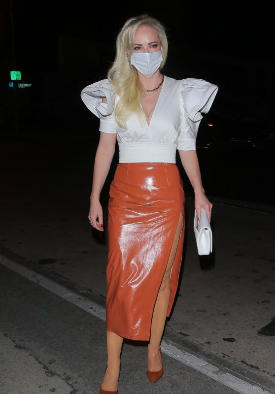 Louise Linton at Celebrity Hotspot Craigs in West Hollywood 02/11/2021