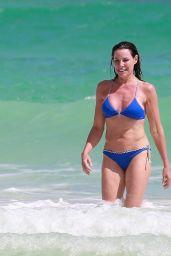 Luann de Lesseps in a Bikini in Tulum 02/24/2021