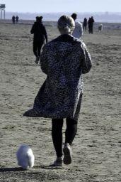 Lucy Fallon - Blackpool Beach 02/22/2021