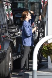 Lucy Hale at the Gas Station in Studio City 02/10/2021