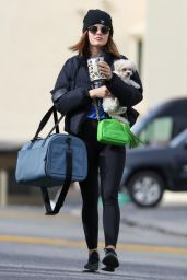 Lucy Hale - Going to the Gym in LA 02/15/2021