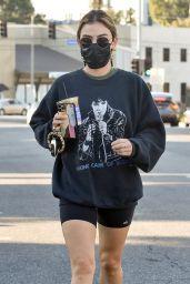 Lucy Hale - Grabs Coffee in LA 02/24/2021