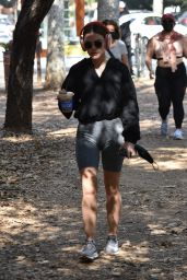 Lucy Hale - Hike in Los Angeles 02/08/2021