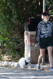Lucy Hale - Hike in Studio City 02/20/2021