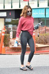 Lucy Hale in Spandex - LA 02/09/2021