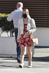 Lucy Hale - Leaving a Business Meeting in LA 02/25/2021