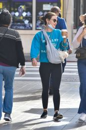 Lucy Hale - Out in Los Angeles 02/16/2021