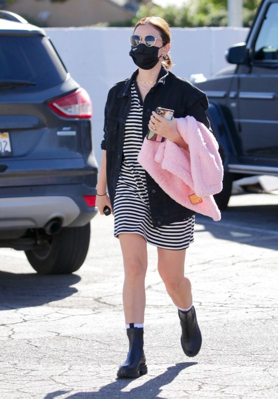 Lucy Hale - Out in Studio City 02/06/2021