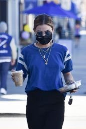 Lucy Hale - Out in Studio City 02/22/2021