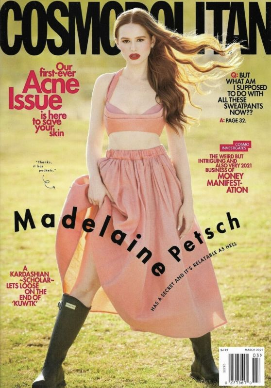 Madelaine Petsch - Cosmopolitan Magazine March 2021 Cover