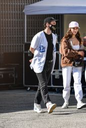 Madison Beer in Casual Outfit - Los Angeles 02/26/2021
