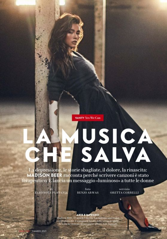 Madison Beer - Vanity Fair Italy March 2021 Issue