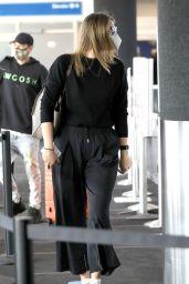 Maria Sharapova at LAX Airport in LA 02/03/2021