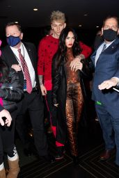 Megan Fox at the Rockefeller Center in New York 01/30/2021