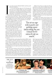 Michelle Pfeiffer - Town and Country Magazine March 2021 Issue