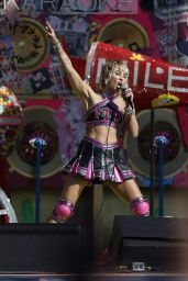 Miley Cyrus - Performs at the Super Bowl Pre-Game Show in Tampa 02/07/2021