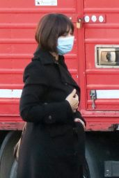 Monica Bellucci on the Set of Her New Movie - Rome 02/12/2021